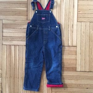 Old Navy Fleeced Lined Overalls